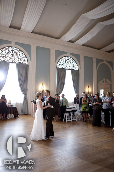 wedding photos at Texas Federation of Women's Clubs Mansion in Austin Texas